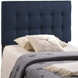 Emily Twin Fabric Headboard in Navy