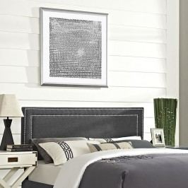Jessamine Full Fabric Headboard in Gray