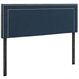 Jessamine Queen Fabric Headboard in Azure