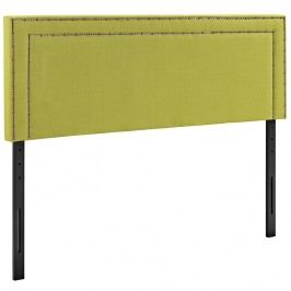 Jessamine Queen Fabric Headboard in Wheatgrass