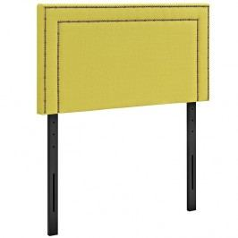 Jessamine Twin Fabric Headboard in Sunny