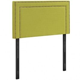 Jessamine Twin Fabric Headboard in Wheatgrass