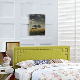 Josie Full Fabric Headboard in Wheatgrass