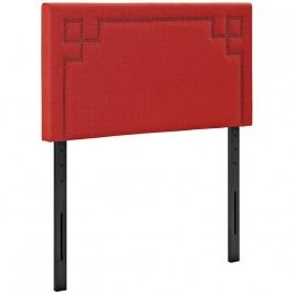 Josie Twin Fabric Headboard in Atomic Red