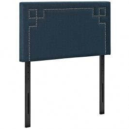 Josie Twin Fabric Headboard in Azure