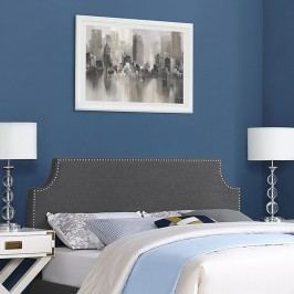 Laura King Fabric Headboard in Gray
