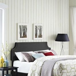Laura King Vinyl Headboard in Black
