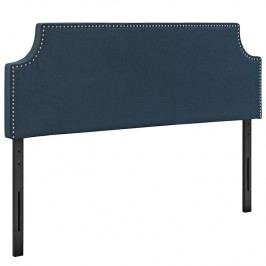 Laura Queen Fabric Headboard in Azure