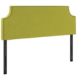Laura Queen Fabric Headboard in Wheatgrass
