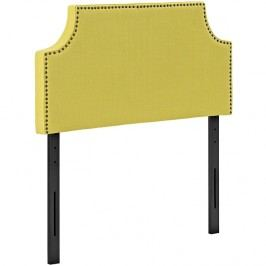 Laura Twin Fabric Headboard in Sunny