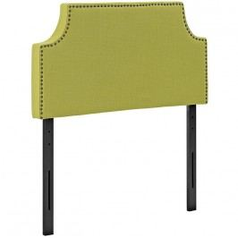 Laura Twin Fabric Headboard in Wheatgrass