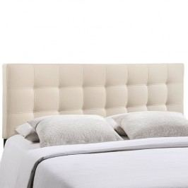 Lily Queen Fabric Headboard in Ivory