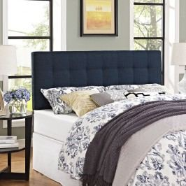 Lily Queen Fabric Headboard in Navy