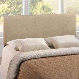 Oliver Full Fabric Headboard in Beige