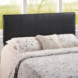 Oliver Full Vinyl Headboard in Black