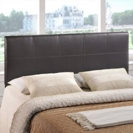 Oliver Full Vinyl Headboard in Brown