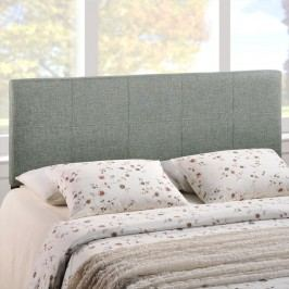 Oliver Queen Fabric Headboard in Gray