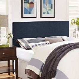Oliver Twin Fabric Headboard in Navy