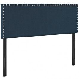 Phoebe Queen Fabric Headboard in Azure