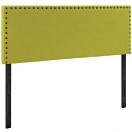 Phoebe Queen Fabric Headboard in Wheatgrass