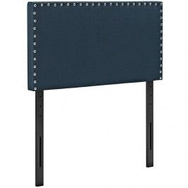 Phoebe Twin Fabric Headboard in Azure