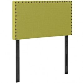 Phoebe Twin Fabric Headboard in Wheatgrass