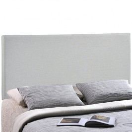 Region King Upholstered Headboard in Sky Gray