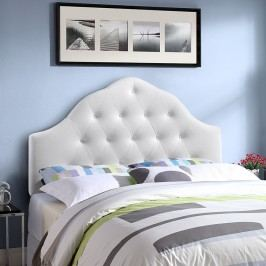 Sovereign Queen Vinyl Headboard in White