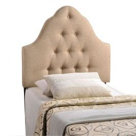 Sovereign Twin Fabric Headboard in Beige