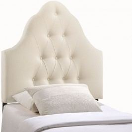 Sovereign Twin Fabric Headboard in Ivory