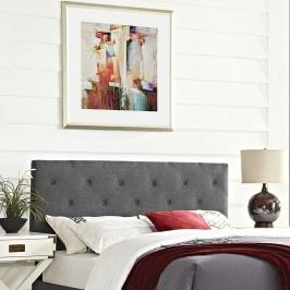 Terisa Full Fabric Headboard in Gray