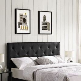 Terisa Full Vinyl Headboard in Black