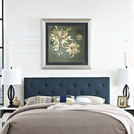 Terisa King Fabric Headboard in Azure