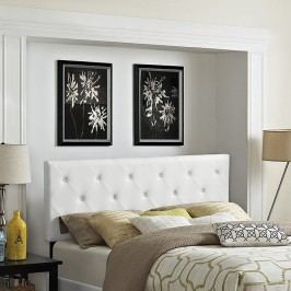 Terisa King Vinyl Headboard in White