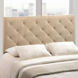 Theodore King Fabric Headboard in Beige