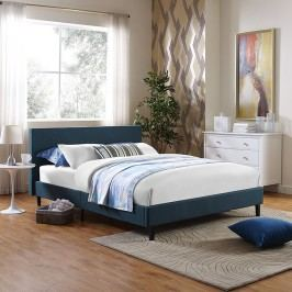 Anya Queen Bed Frame in Azure