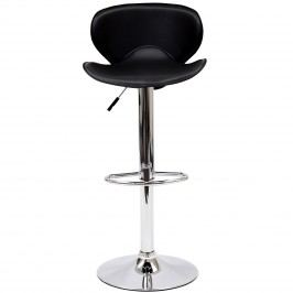 Booster Bar Stool in Black