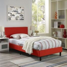 Anya Twin Bed in Atomic Red