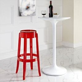 Casper Bar Stool in Red