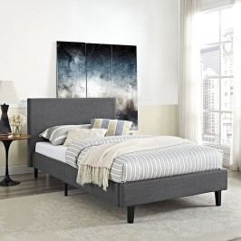 Anya Twin Bed in Gray