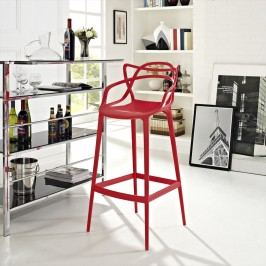 Entangled Bar Stool in Red