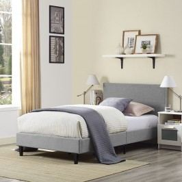 Anya Twin Bed in Light Gray