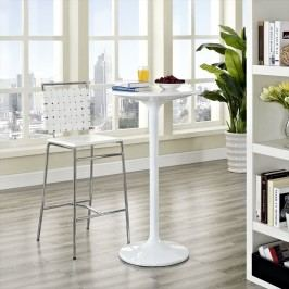 Fuse Bar Stool in White
