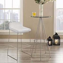 Garner Bar Stool in White