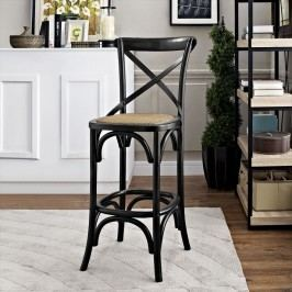 Gear Bar Stool in Black