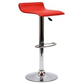 Gloria Bar Stool in Red