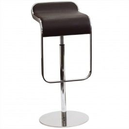 LEM Leather Bar Stool in Brown