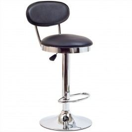 Retro Bar Stool in Black