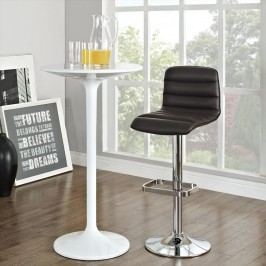 Ripple Bar Stool in Brown