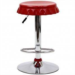 Soda Bar Stool in Red